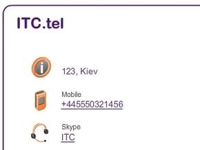 3 декабря началась регистрация доменов в зоне .tel