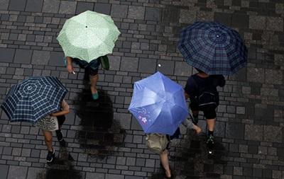 В Китае объявили  желтый  уровень тревоги из-за тайфуна