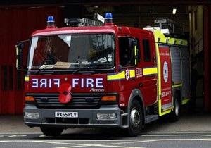 Лондонские пожарные устроили забастовку