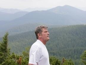 Ющенко уехал в Ивано-Франковскую область для восхождения на Говерлу
