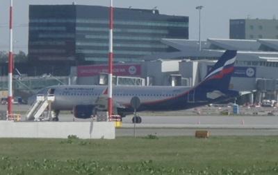 При взлете российский самолет врезался в польский