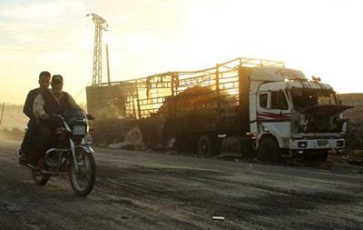 ООН готова возобновить наземные гуманитарные операции в Сирии