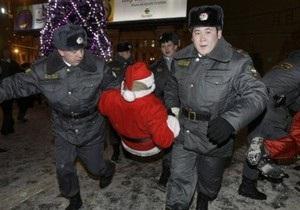 Милиция отпустила всех задержанных на Триумфальной площади в Москве