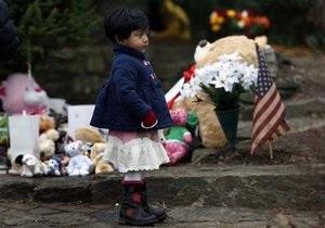 Ученики школы Сэнди Хук, где произошло массовое убийство детей, будут учиться в соседнем городе