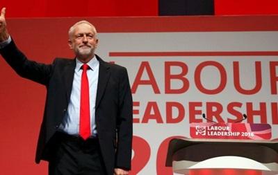 Корбин переизбран лидером британской Лейбористской партии