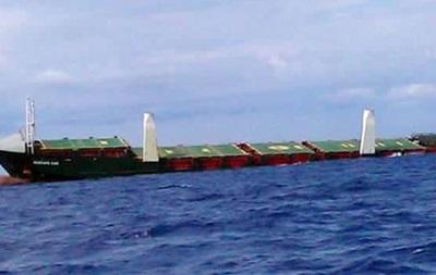 У Сицилии затонуло турецкое судно