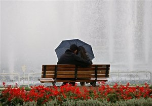 Завтра на всей территории Украины прогнозируют дожди