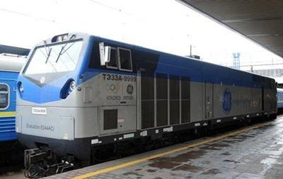 Укрзализныця начала тестировать локомотив General Electric