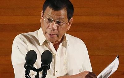 Філіппінський президент порівняв себе з Гітлером