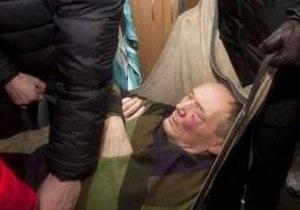 Бузек об избиении Некляева: Это трусливая атака на беззащитного кандидата