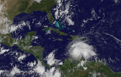 На Карибы надвигается ураган  Мэтью