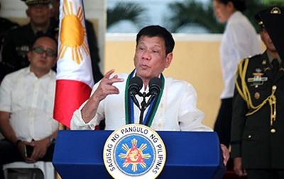 Президент Філіппін відкинув порівняння з Гітлером