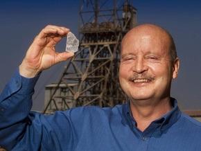 В ЮАР нашли белый алмаз весом более 500 карат