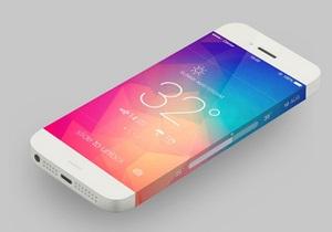 Экран,  стекающий  по корпусу. В интернете появился новый дизайн-концепт iPhone 5S