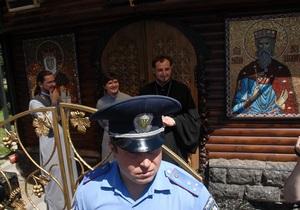 Депутат предложил снести деревянный храм УПЦ МП около Десятинной церкви