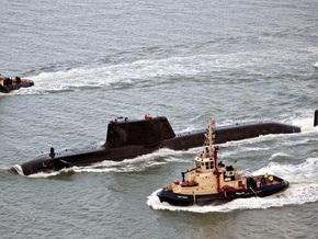 В шотландский порт прибыла крупнейшая атомная подлодка британских ВМС