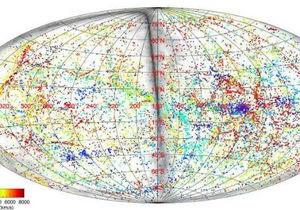 Новости науки - космос: Ученые составили карту движений ближнего космоса