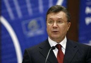Янукович заверил, что перебоев с транзитом газа в Европу не будет
