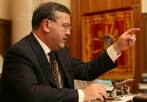 Гриценко требует уволить Ежеля