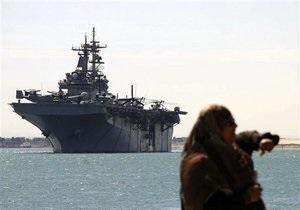 Два военных корабля ВМС США прибыли в Средиземное море