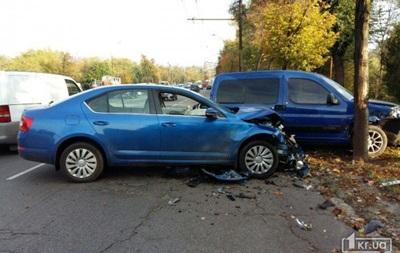 ДТП в Кривом Роге: девять пострадавших