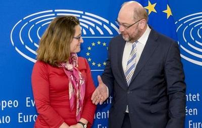 ЕС и Канада подпишут соглашение о торговле на следующей неделе