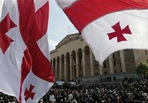 Парламент Грузии призвал мировое сообщество надавить на Россию