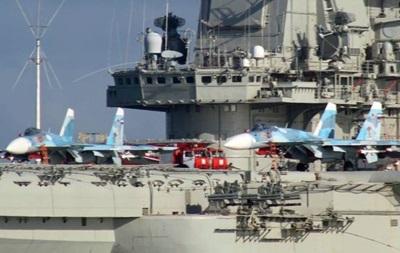 Россия отрицает запрос на заход авианосца в порт Испании