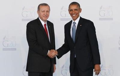 Обама и Эрдоган обсудили следующие шаги в борьбе с ИГ
