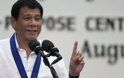 Президент Филиппин  пообещал Богу больше не сквернословить