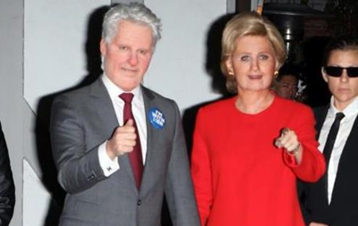 Кеті Перрі та Орландо Блум  перетворилися  на подружжя Клінтон
