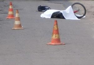В Полтавской области водитель Lexus сбил насмерть велосипедиста и скрылся с места ДТП
