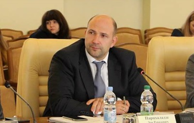 Парцхаладзе ушел с поста первого замглавы Киевской ОГА
