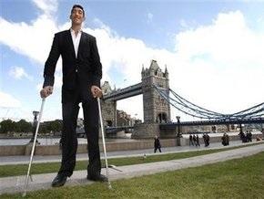 Турок признан самым высоким человеком в мире