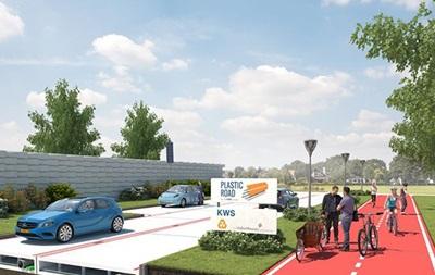 У Нідерландах з явиться перша у світі пластикова дорога