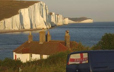 На юге Англии стремительно разрушаются белые скалы