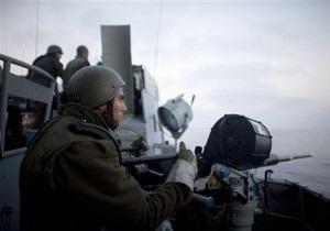 Украина обеспокоена инцидентом с морским гуманитарным конвоем в Израиле