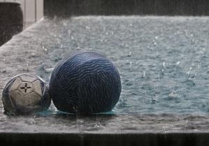 На западе Украины объявлено штормовое предупреждение