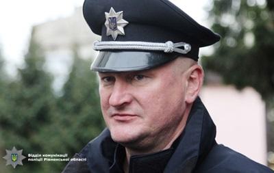 Головний коп Рівненщини пішов у відставку