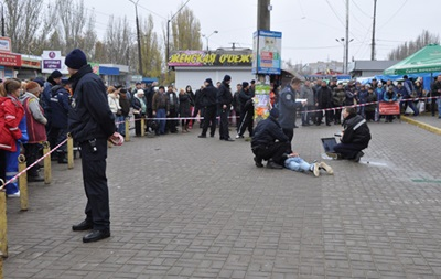 На рынке в Николаеве со стрельбой задержали воров