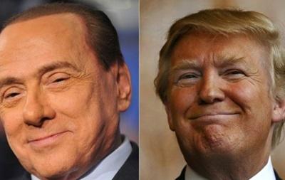 Берлускони понимает, почему его сравнивают с Трампом