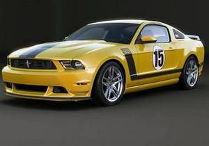 Эксклюзивный Ford Mustang продадут на аукционе