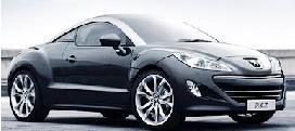 Peugeot представит во Франкфурте новый спорткар