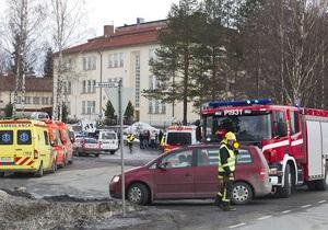 Неизвестный открыл стрельбу в школе в Финляндии