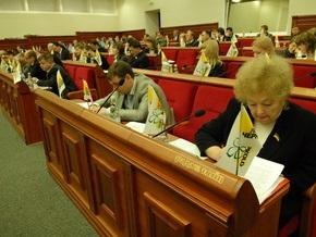 Блок Литвина заявляет о фальсификации результатов голосования на сессии Киевсовета