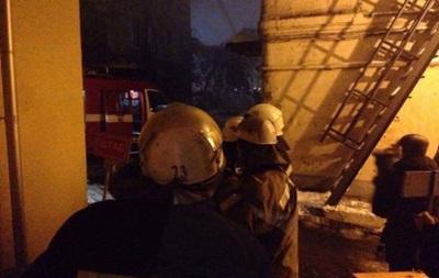 В Киеве бомж поджег жилой дом