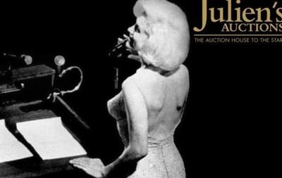 Платье Мэрилин Монро продано почти за пять миллионов долларов