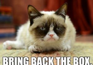 Grumpy Cat снялся в рекламе кошачьего корма