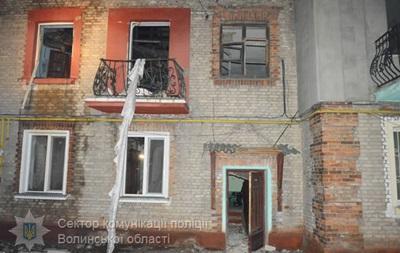 Взрыв газа в доме на Волыни: есть пострадавшие