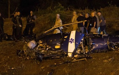 У Бразилії над фавелою збили поліцейський вертоліт